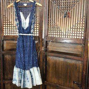 Meadow Rue Dress Indigo Blue - Size 6
